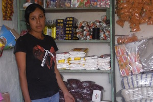 Rubi in her store. (Photo: FIPAH)